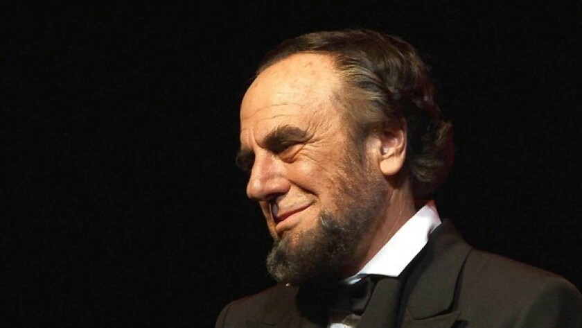 On Theater: Another 'Lincoln,' closer to home
