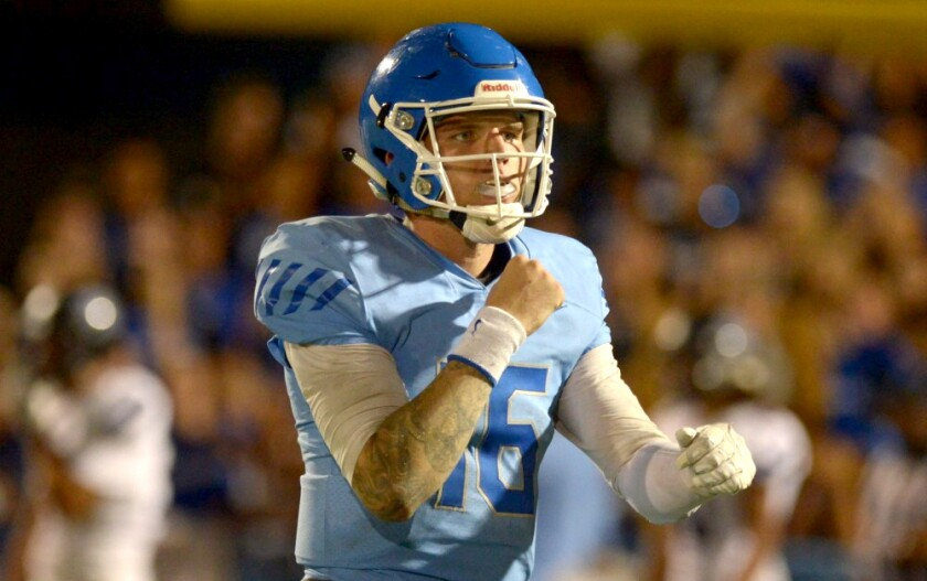 Norco quarterback Shane Illingworth, who has committed to Oklahoma State, passed for 567 yards and seven touchdowns against Vista Murrieta.
