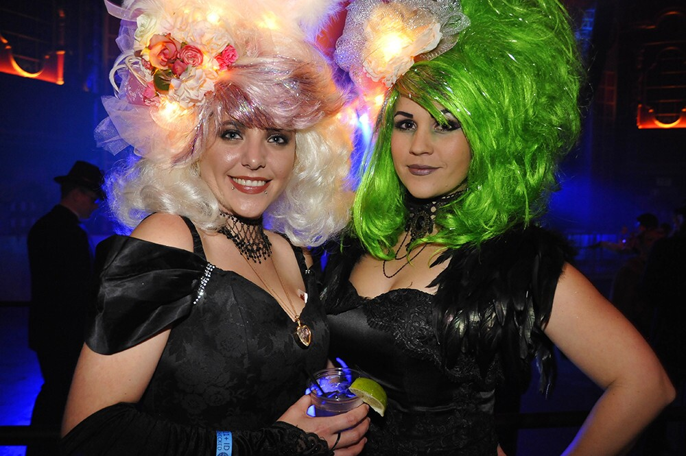Guests dressed in their finest inspired duds at The Mad Hatter's Ball: Down the Rabbit Hole, for an evening of cirque performances, music, dancing, craft cocktails and more unique activities at The Observatory North Park on Friday, Feb. 1, 2019.