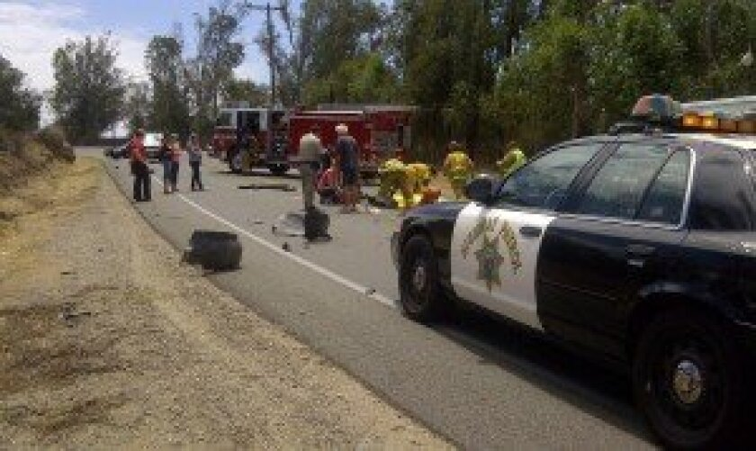 CHP reports fatality on SR-78 east of Ramona - Ramona Sentinel