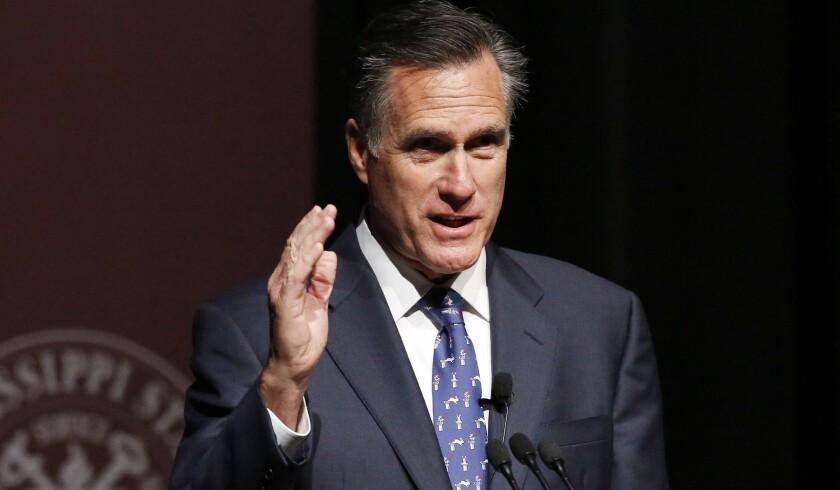 Sen. Mitt Romney