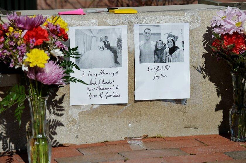 Chapel Hill, N.C., victims