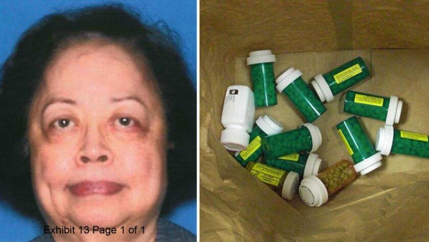 Eleanor Santiago, left, prescribed OxyContin 80s for Lake Medical.