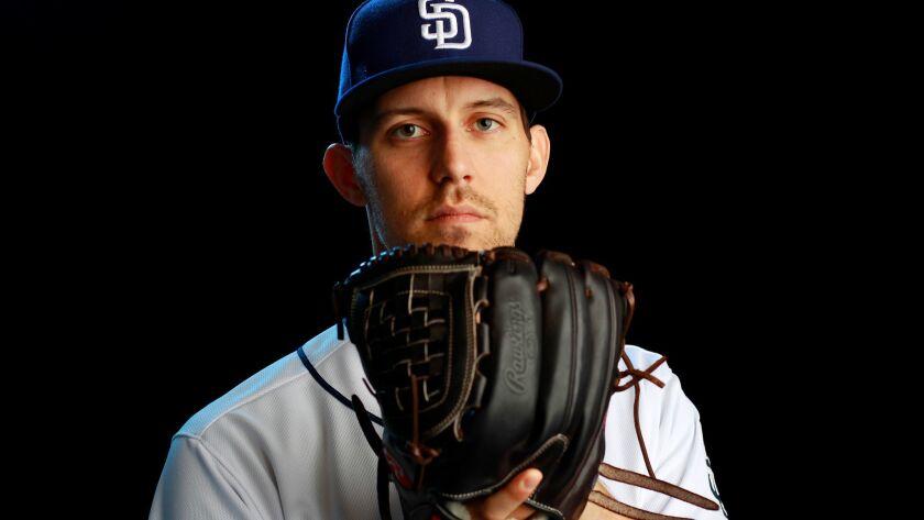 Padres starting pitcher Christian Friedrich