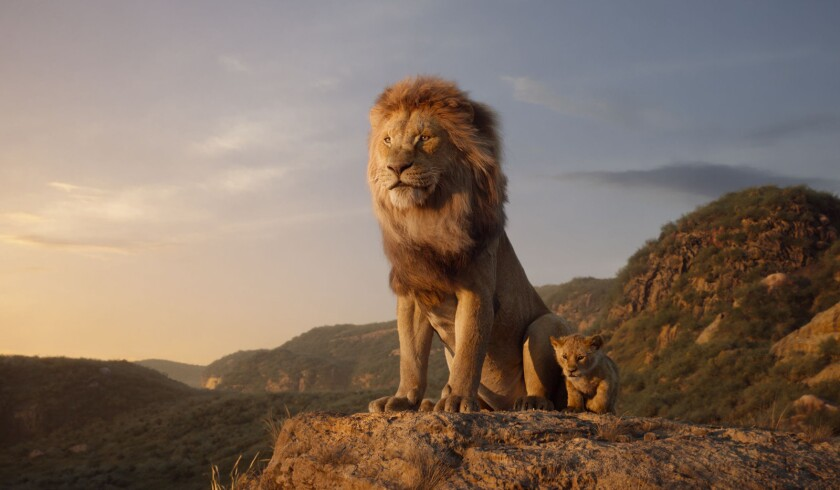 ***SUMMER SNEAKS ISSUE APRIL 28, 2019. DO NOT USE PRIOR****THE LION KING - Featuring the voices of J