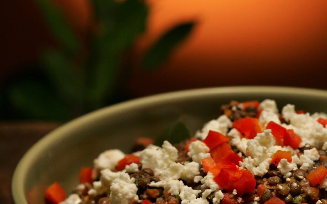Deborah Madison's lentil salad