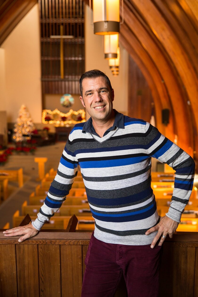 Pastor Rev. Adam Stadtmiller of La Jolla Christian Fellowship