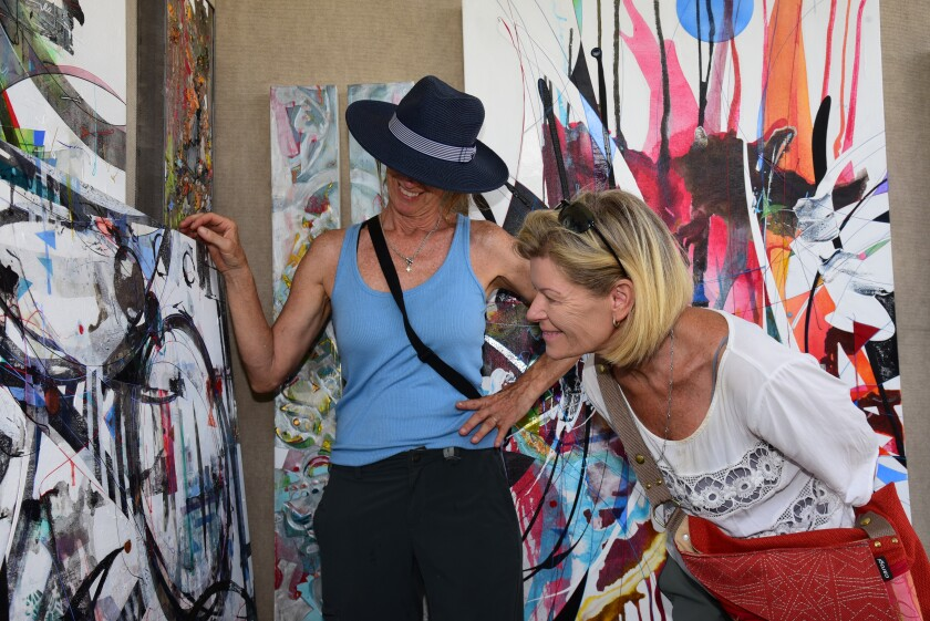 ArtWalk Liberty Station returns to in-person event on Aug. 7 and 8.