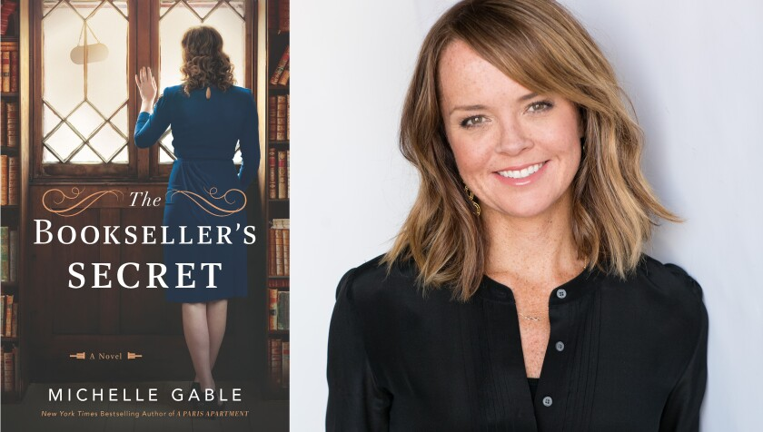 """Author Michelle Gable and her new book, """"The Bookseller's Secret"""""""