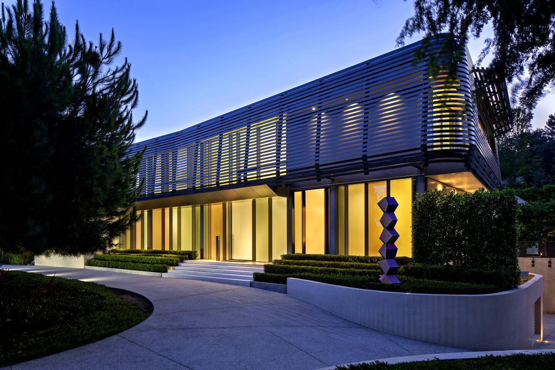 Architect William Hefner's Brise Soleil in Beverly Hills.
