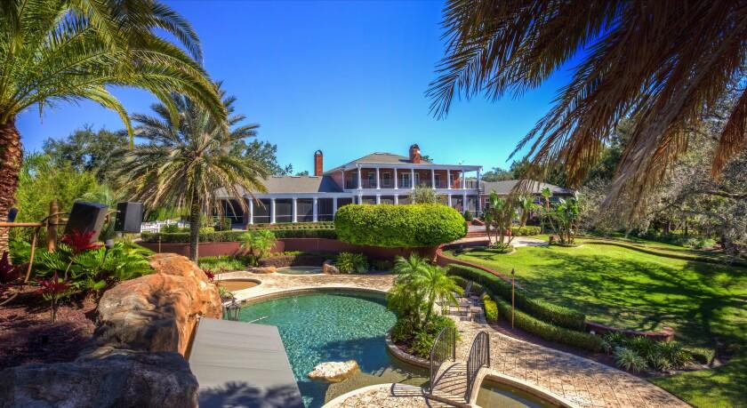 Photo: house/residence of the cool 14 million earning Orlando, Florida-resident
