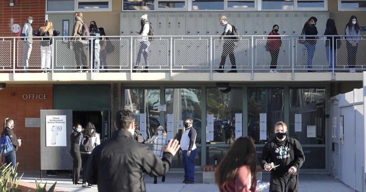 O.C. Board of Education to sue Gov. Newsom over K-12 school mask mandate
