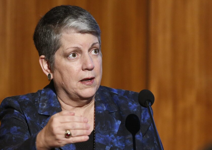 University of California President Janet Napolitano finds UC's budget practices facing increasing criticism from members of the Legislature.