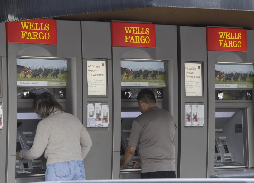People use Wells Fargo ATMs.