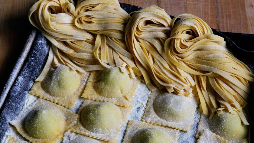 Chef Jeremy Oursland's Basic Pasta Recipe can be used to make fettuccini, ravioli and other varieties of pasta.