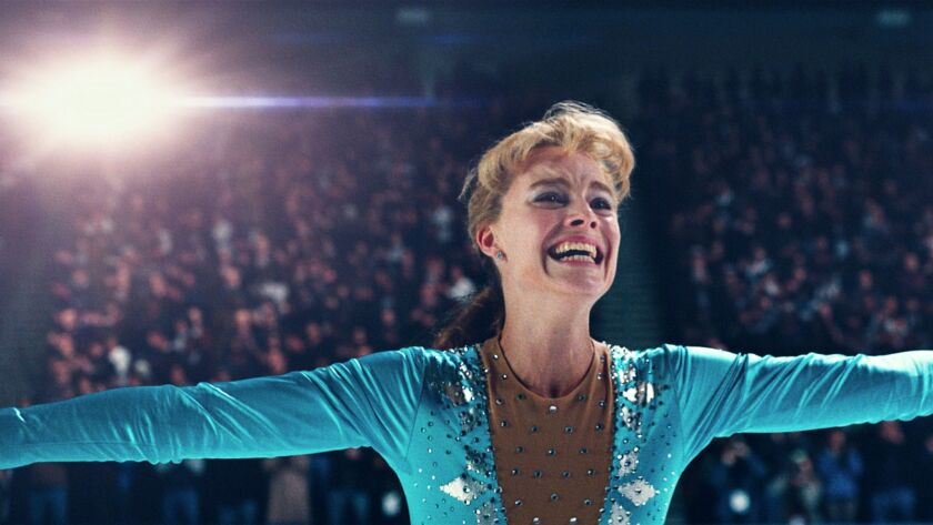 "This image released by Neon shows Margot Robbie as Tonya Harding in a scene from ""I, Tonya."" (Neon v"