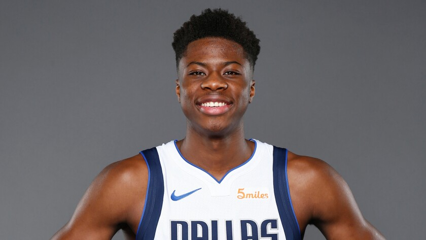 Kostas Antetokounmpo, who was drafted by the Dallas Mavericks last year, has been claimed off waivers by the Lakers.