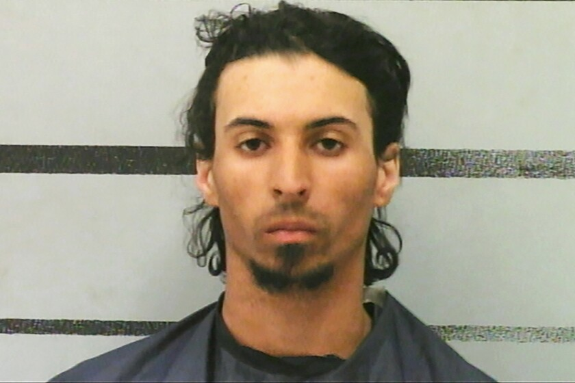 Trevor Marquis Rowe, 27, was jailed in Lubbock County, Texas, on $2-million bond.