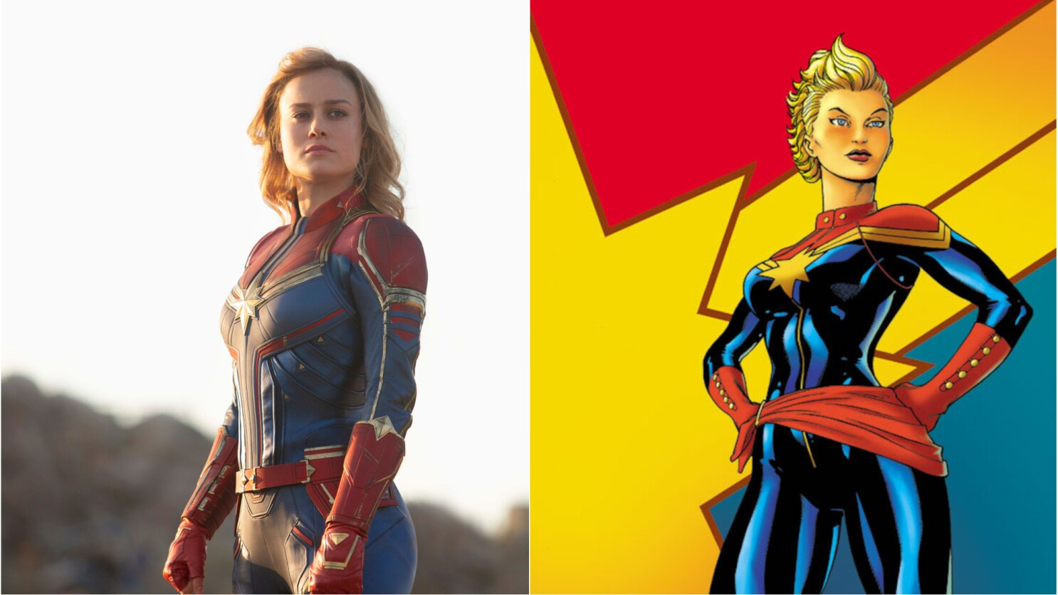 Captain Marvel A Brief History Of Carol Danvers Los Angeles Times Check out our captain marvel costume selection for the very best in unique or custom, handmade pieces from our costumes shops. captain marvel a brief history of