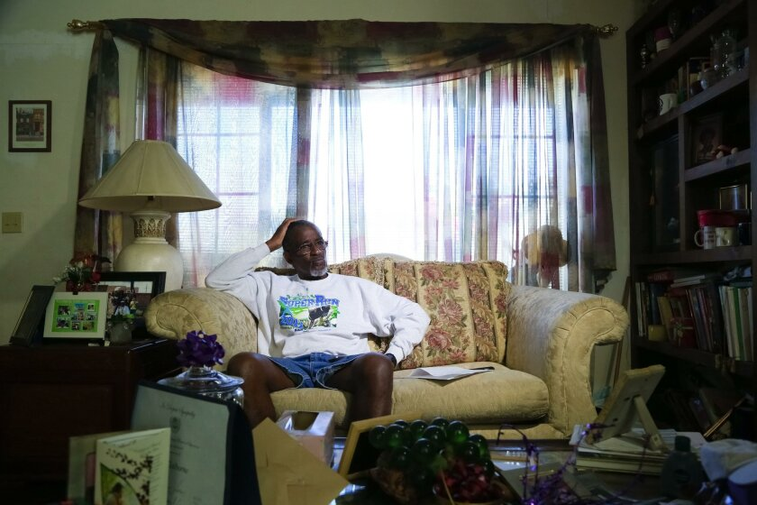 Alford Claiborne was the caregiver for his wife Rita since she was diagnosed with Alzheimer's in 2001. Since her death in 2014, Claibrone has been struggling to rebuild his life.