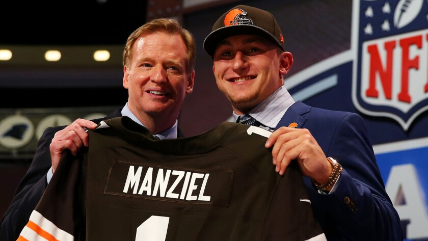 Johnny Manziel, Roger Goodell