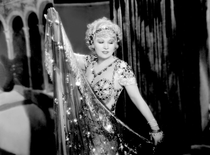 """""""American Masters: Mae West: Dirty Blonde"""" on PBS."""