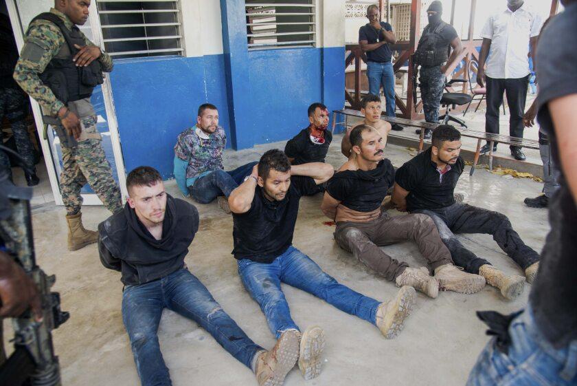 Arrestan 2 haitiano-estadounidenses por muerte de Jovenel Moïse