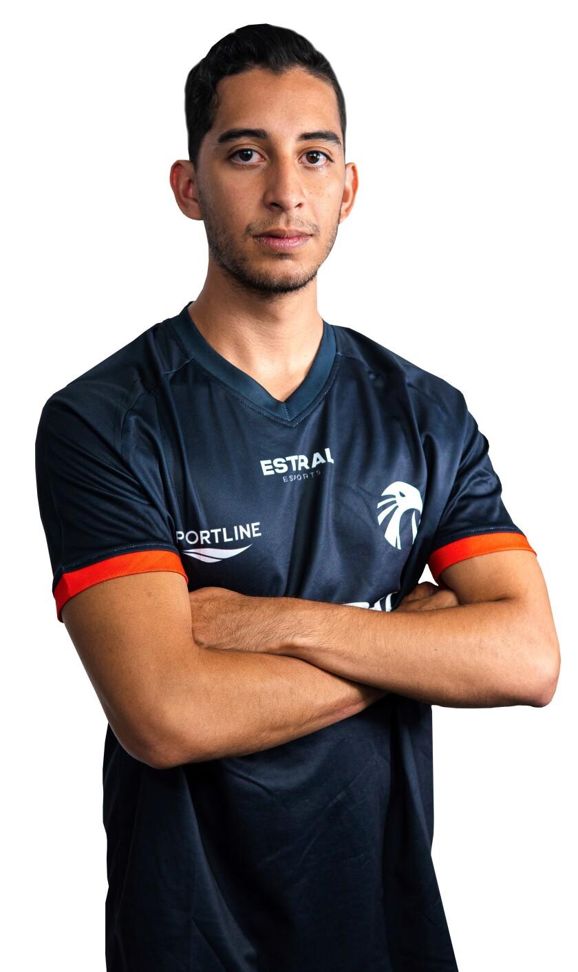 Emerich 'Goku' Jiménez, entrenador y jugador de Estral Esports