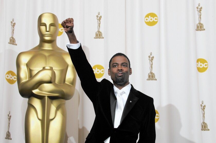 The Oscars: Chris Rock the right host for a race-aware moment