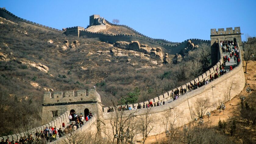 As many as three-quarters of the tourists who visit China'€™s Great Wall do so at the Badaling section.