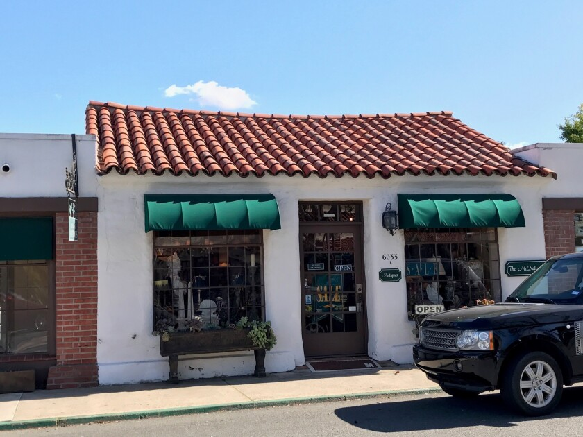 McNally Antiques is closing in Rancho Santa Fe.
