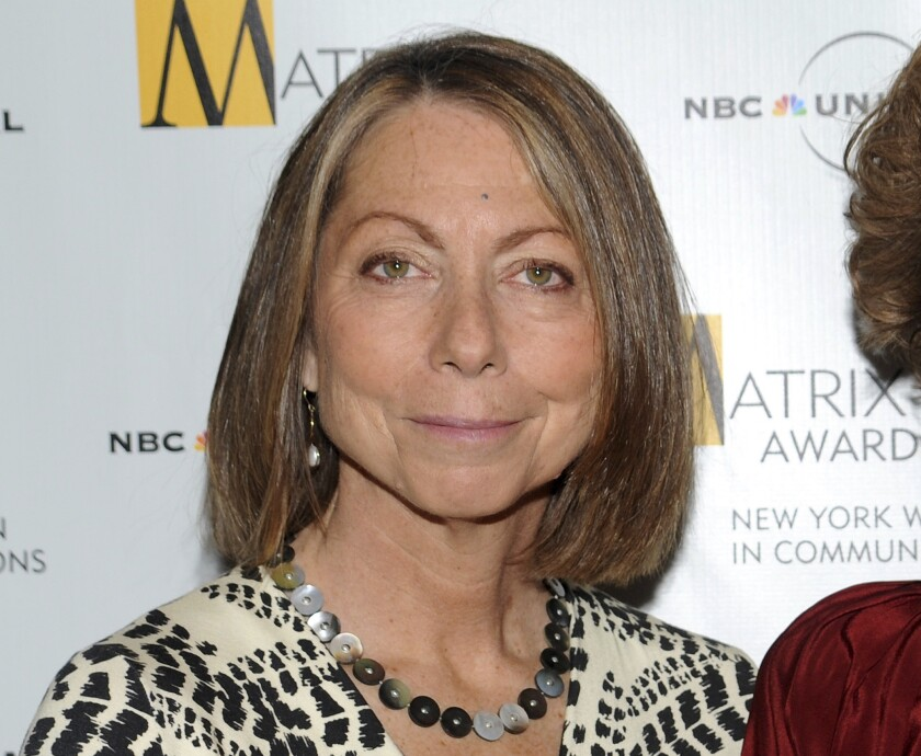 Jill Abramson attends the 2010 Matrix Awards presented by the New York Women in Communications at the Waldorf-Astoria Hotel in New York.