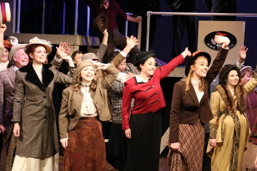 Titanic musical at The Attic