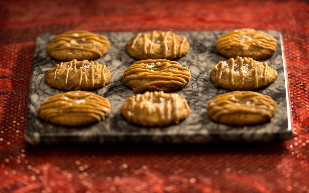 Salted caramel snickerdoodles