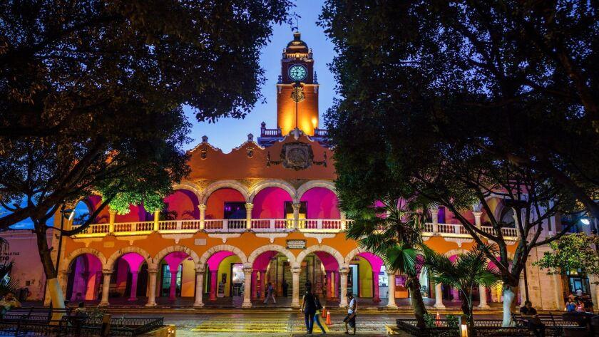 Ayuntamiento de Merida Yucatan, City Hall