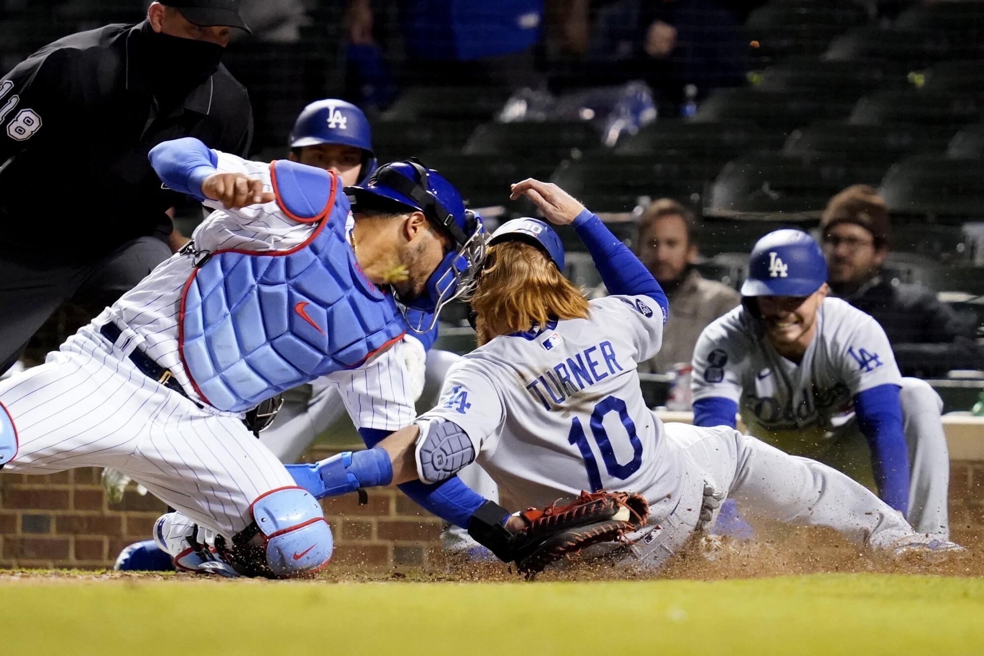 Dodgers vs. Chicago Cubs: Live updates, news, odds, score - Los Angeles  Times