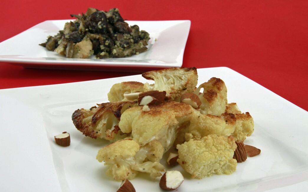 Craft's roasted cauliflower