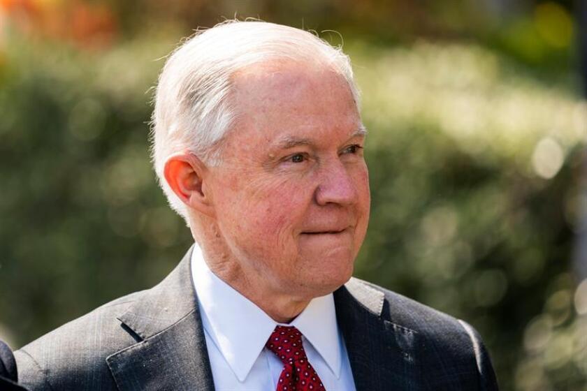 El fiscal General de EE.UU., Jeff Sessions. EFE / Archivo