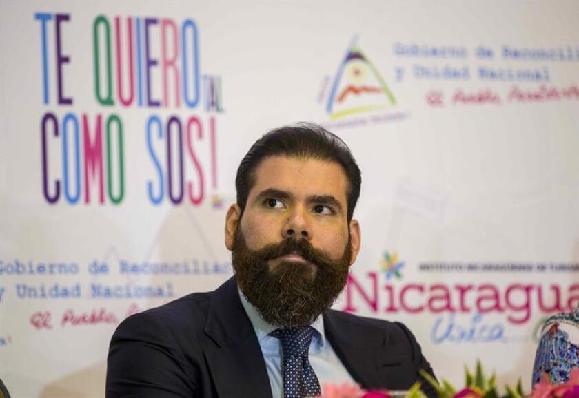 En la imagen, el asesor para inversiones del Gobierno de Nicaragua Laureano Ortega. EFE/Archivo