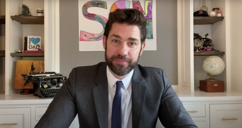 John Krasinski on 'Some Good News'