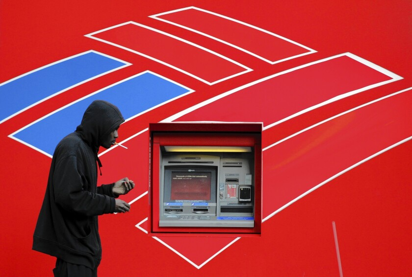 """A New York judge ordered Bank of America to pay nearly $1.3 billion in penalties in a civil fraud case involving a mortgage program that Countrywide had nicknamed """"the hustle."""""""