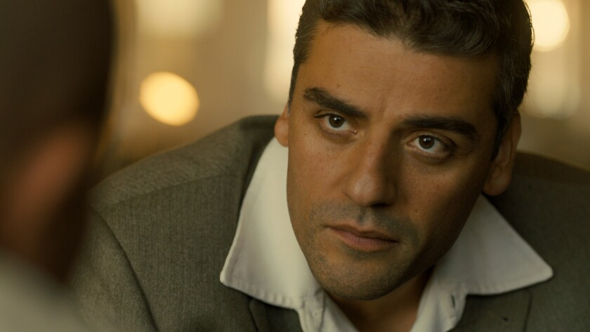 Oscar Isaac stars as Peter Malkin in OPERATION FINALE, written by Matthew Orton and directed by Chri