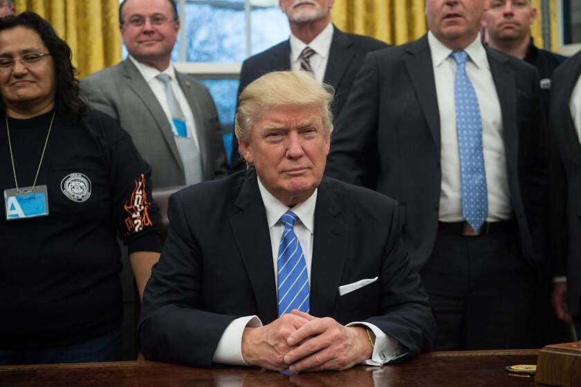 Trump and labor leaders