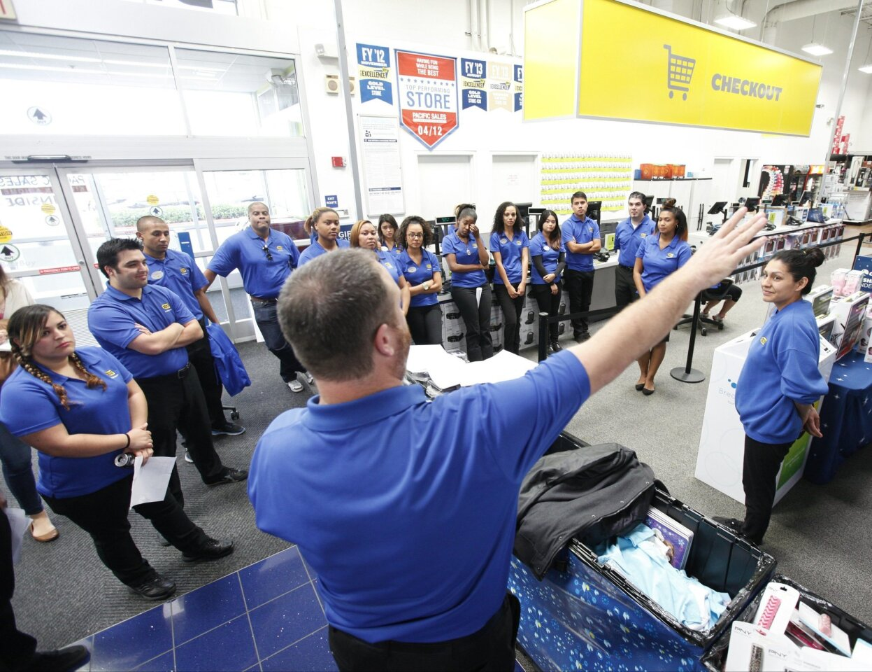 Best Buy holiday training