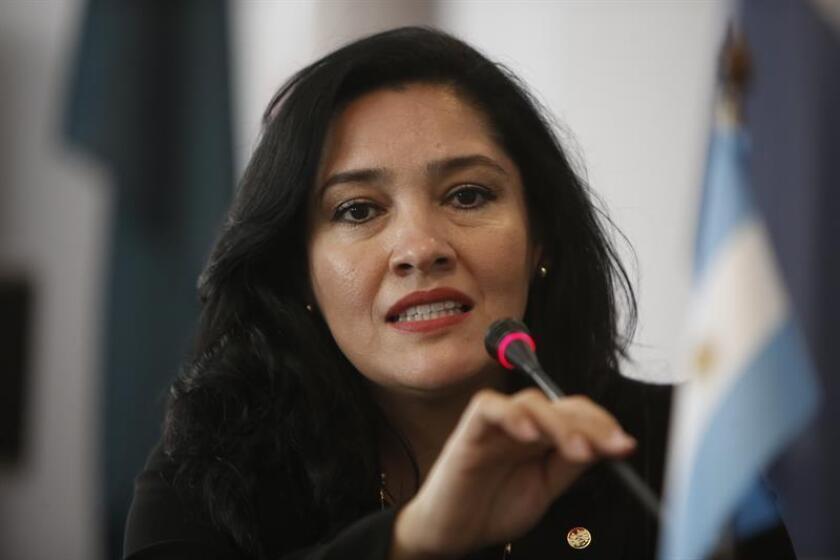 La ministra de Turismo de Paraguay, Sofía Montiel. EFE/Archivo