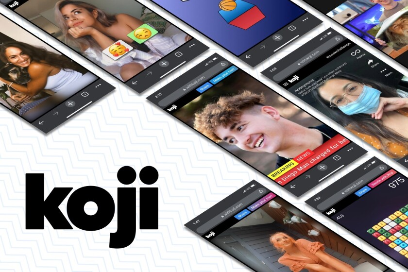 Koji has raised $10 million in a series A fundraising round for its online template platform.