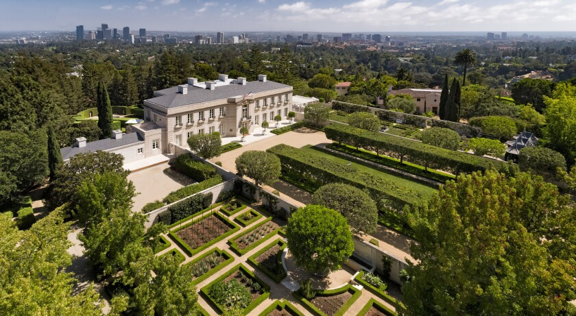 A. Jerrold Perenchio's Chartwell estate in Bel-Air | Hot Property