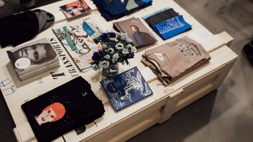A look at merchandise from Agnès B.'s collection at Wittmore.