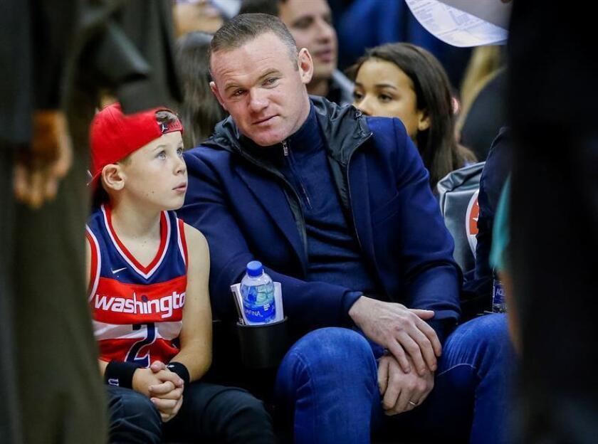 Wayne Rooney, delantero inglés de la Liga Profesional de Fútbol de Estados Unidos (MLS). EFE/Archivo