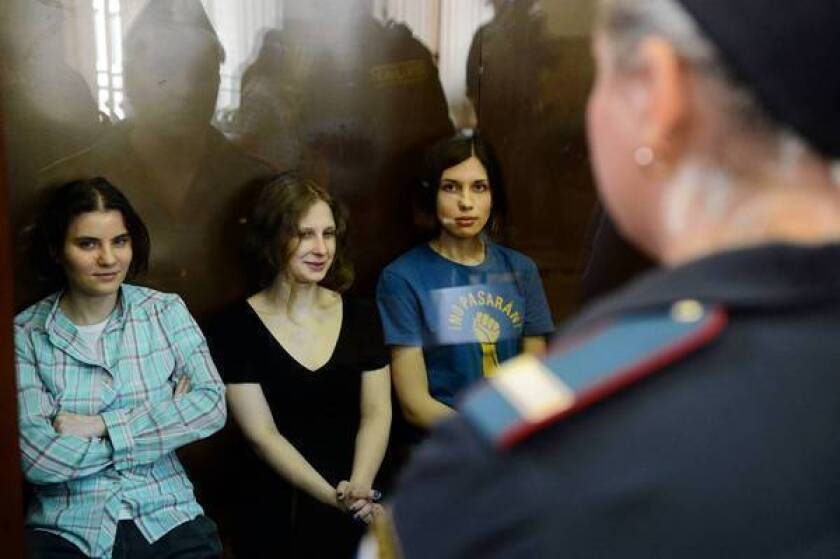 Critic's Notebook: Russian band's sentencing shows punk's power